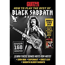 Alfred Guitar World How to Play the Best of Black Sabbath DVD