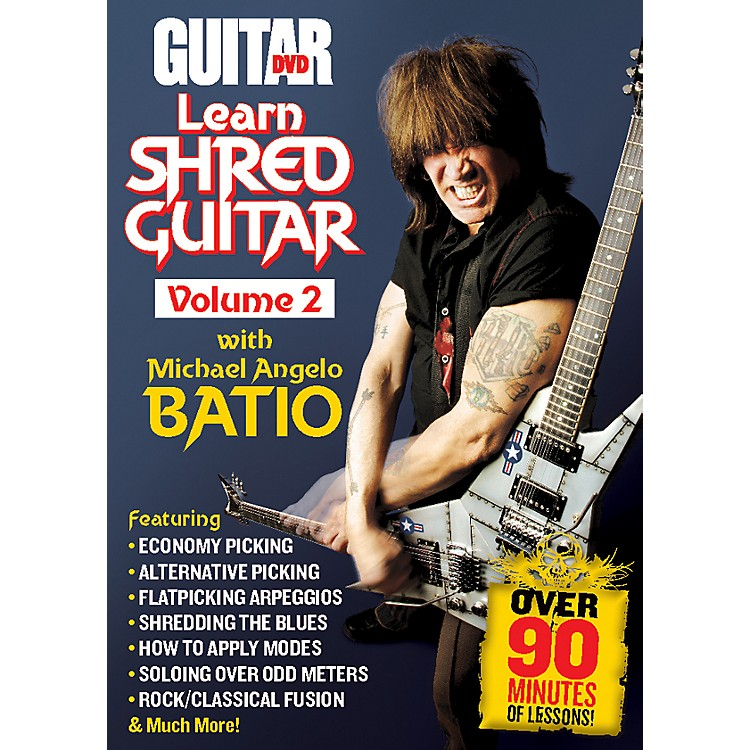 Alfred Guitar World: Learn Shred Guitar Volume 2 DVD