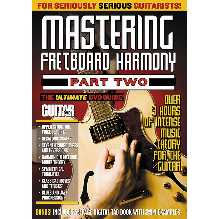 AlfredGuitar World Mastering Fretboard Harmony 2 DVD