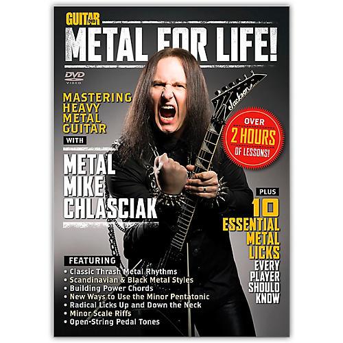 Alfred Guitar World Metal for Life! DVD-thumbnail