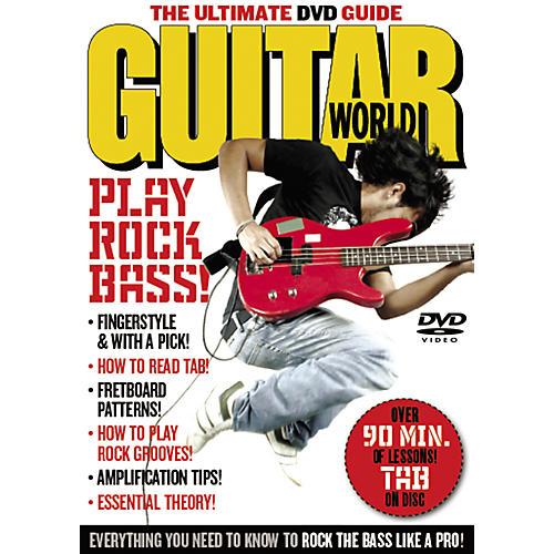 Alfred Guitar World: Play Rock Bass (DVD)