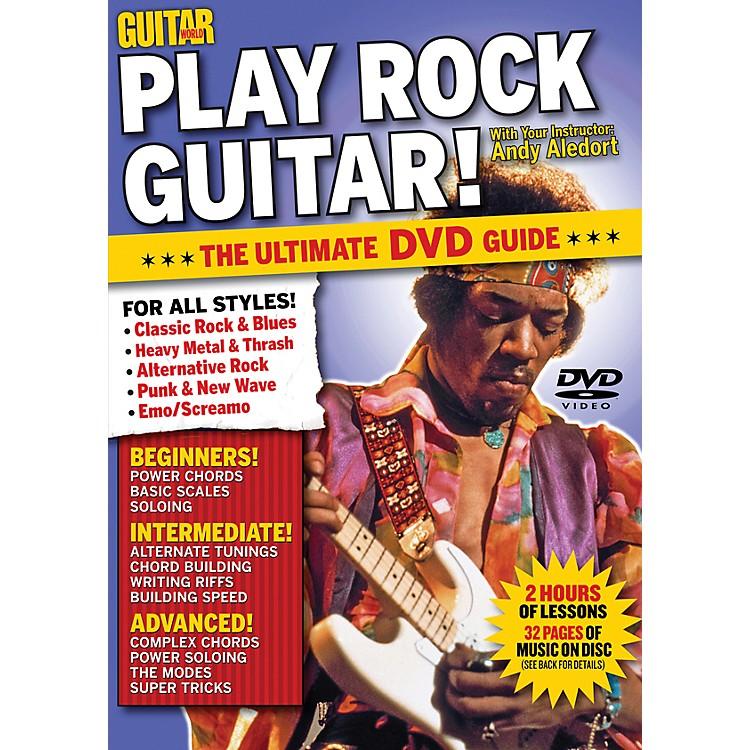 AlfredGuitar World Play Rock Guitar DVD