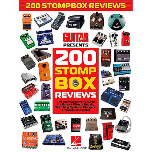 Hal Leonard Guitar World Presents 200 Stompbox Reviews-thumbnail