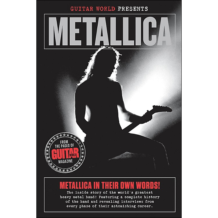 Hal Leonard Guitar World Presents: Metallica Book