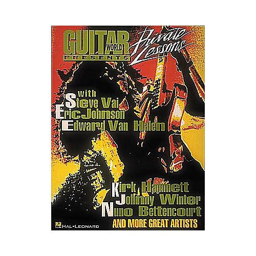 Hal Leonard Guitar World Presents Private Lessons Guitar Tab Book