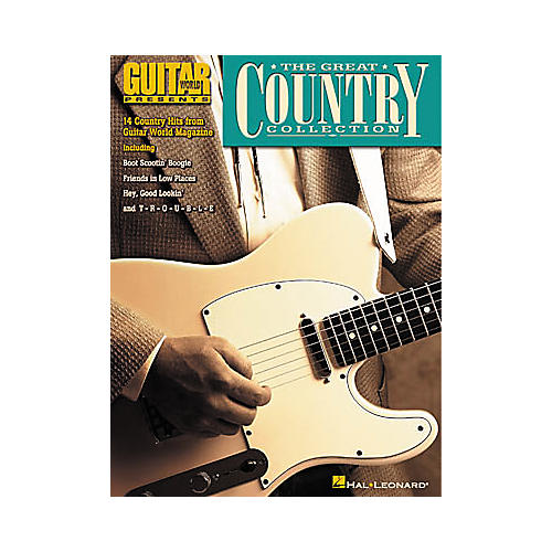 Hal Leonard Guitar World Presents The Great Country Collection Guitar Tab Book-thumbnail