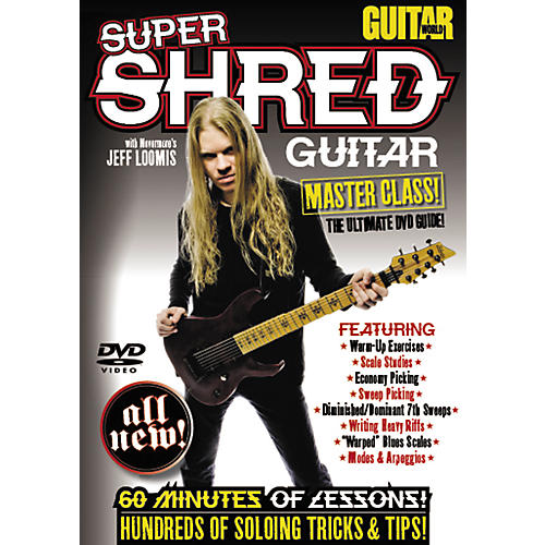 Alfred Guitar World: Super Shred Guitar Masterclass! (DVD)