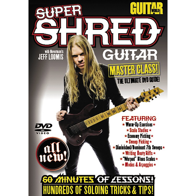 AlfredGuitar World: Super Shred Guitar Masterclass! (DVD)