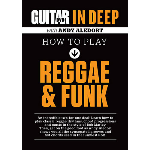 Alfred Guitar World in Deep: How to Play Reggae and Funk DVD-thumbnail