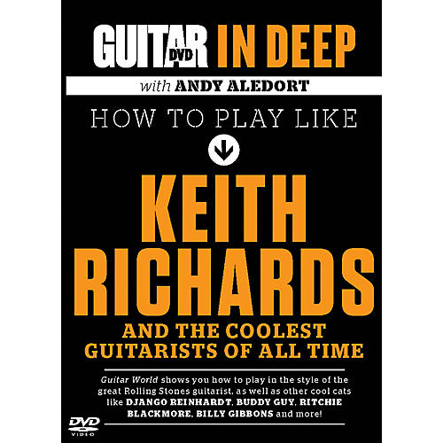 Alfred Guitar World in Deep: How to Play in the Style of Keith Richards DVD