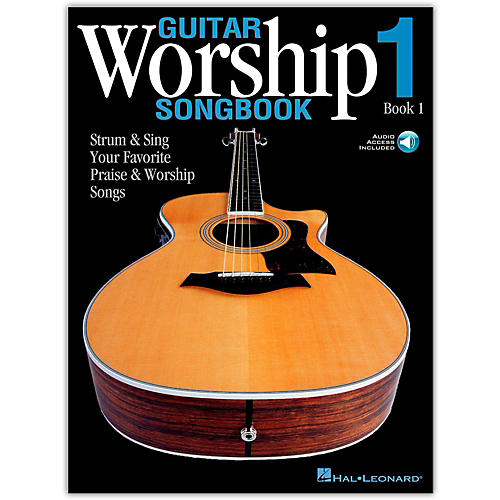 Hal Leonard Guitar Worship Songbook 1 (Book/Online Audio)-thumbnail