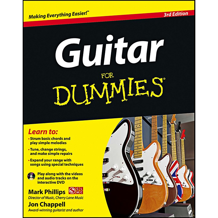 Mel Bay Guitar for Dummies, Second Edition  Book/CD Set