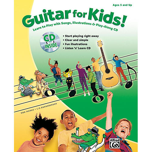 Alfred Guitar for Kids! Book & CD