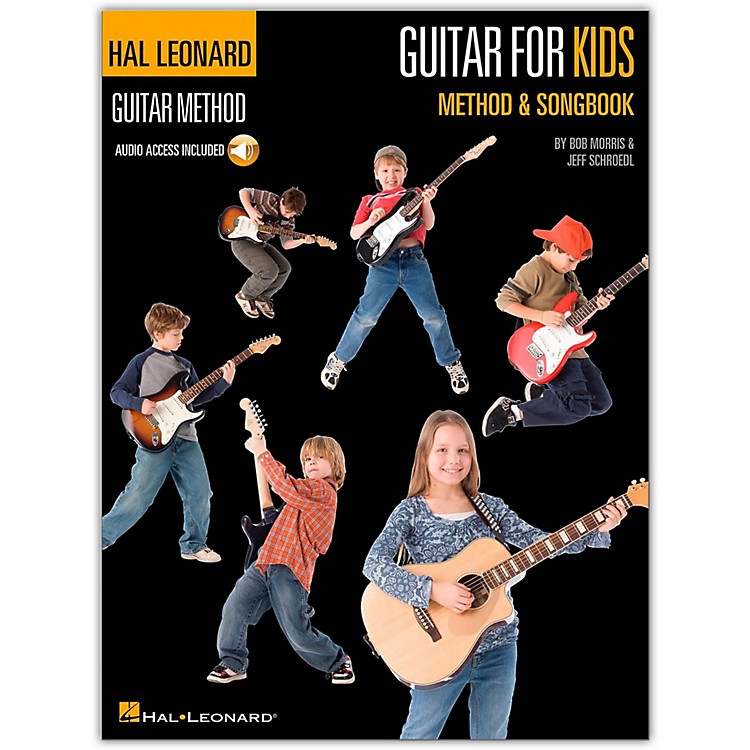 Hal Leonard Guitar for Kids Method & Songbook - Hal Leonard Guitar Method (Book/CD)
