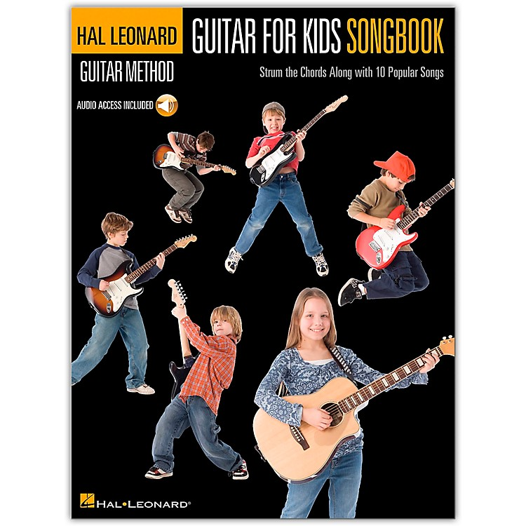 Hal Leonard Guitar for Kids Songbook - Hal Leonard Guitar Method (Book/CD)