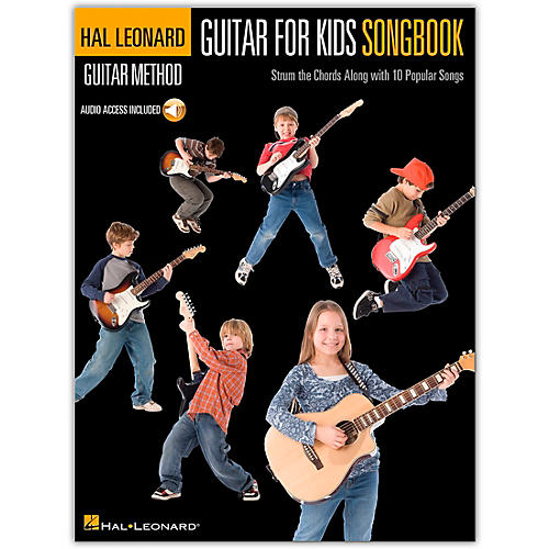 Hal Leonard Guitar for Kids Songbook - Hal Leonard Guitar Method (Book/Online Audio)-thumbnail