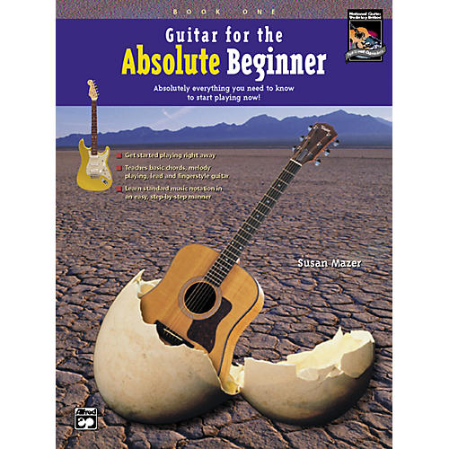 Alfred Guitar for the Absolute Beginner 1 Book/CD-thumbnail