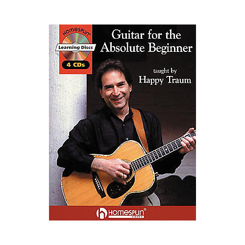 Homespun Guitar for the Absolute Beginner (Book/CD)