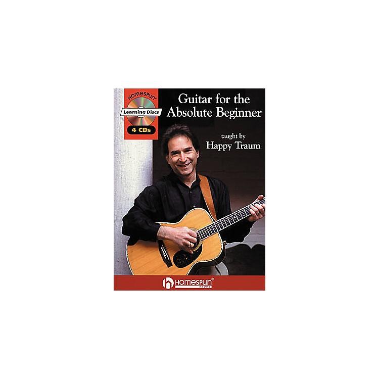 HomespunGuitar for the Absolute Beginner (Book/CD)