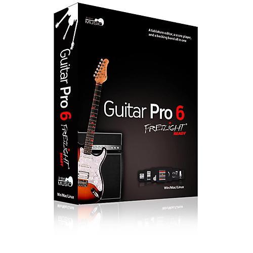 Fretlight GuitarPro6 Ready - GuitarPro6 Ready Tablature Editor, Creation & Playback Software (Retail Package w/Disc)