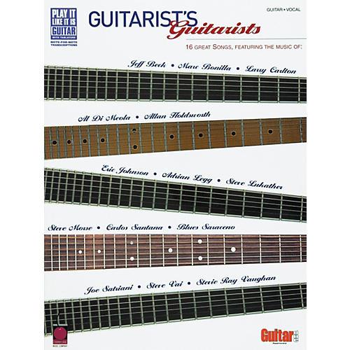 Cherry Lane Guitarist's Guitarists 16 Great Songs Book-thumbnail