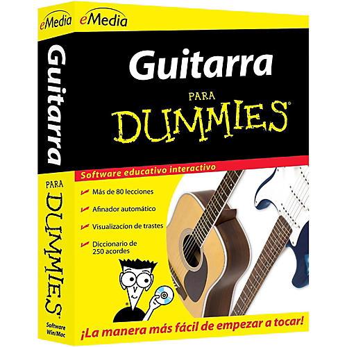 Emedia Guitarra Para Dummies [Boxed]-thumbnail