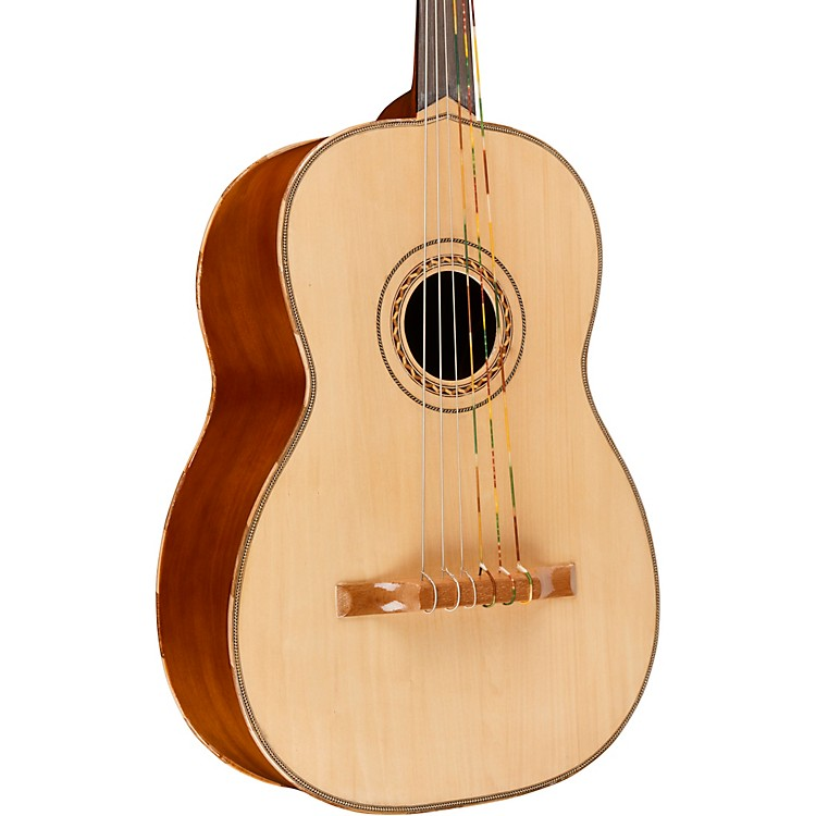 Lucida Guitarron with Bag Natural