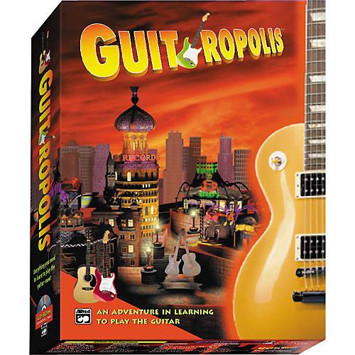 Alfred Guitropolis CD-ROM