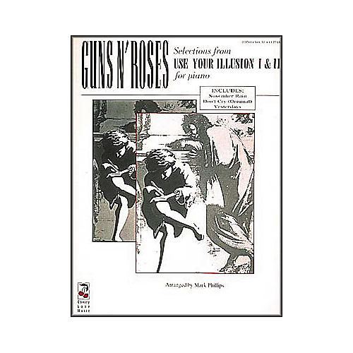 Cherry Lane Guns N' Roses - Selections From Use Your Illusion 1 and II for Piano Book