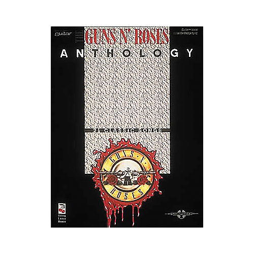 Hal Leonard Guns N' Roses Anthology Guitar Tab Book