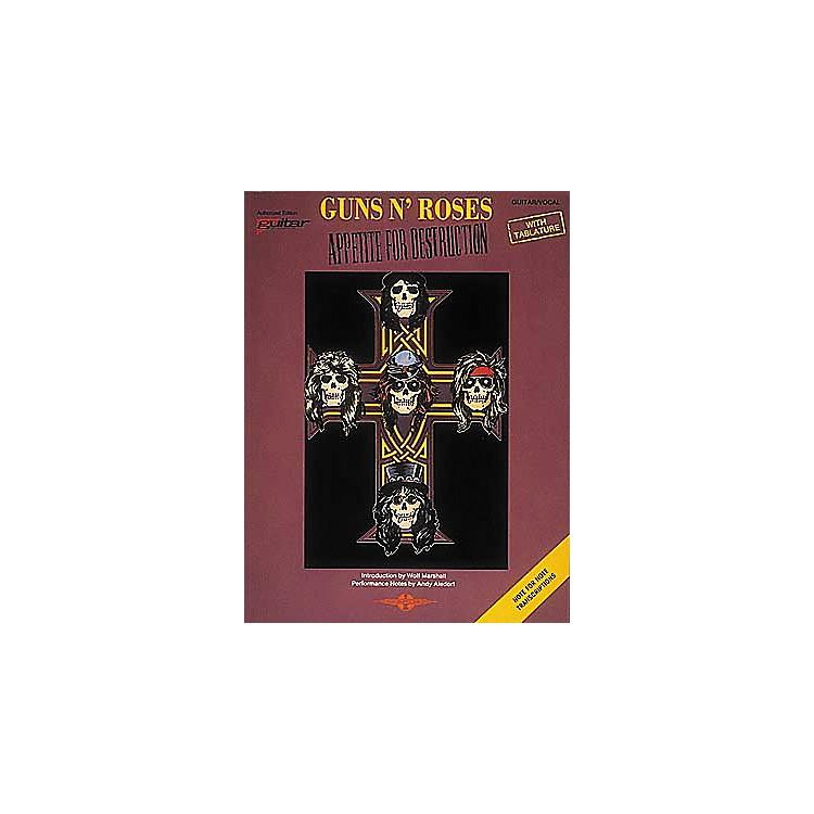 Cherry LaneGuns N' Roses Appetite for Destruction Guitar Tab Songbook