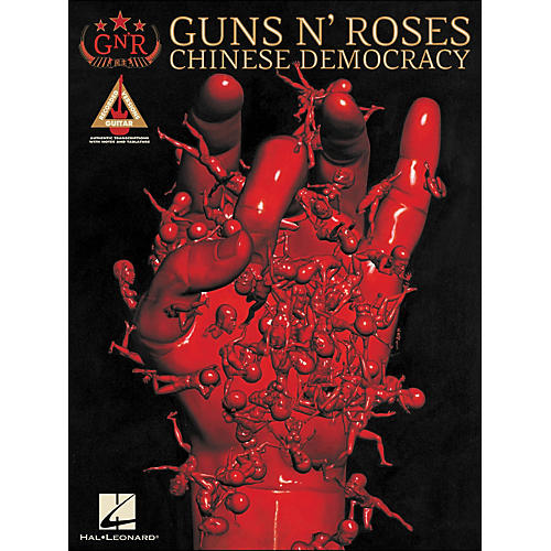 Hal Leonard Guns N' Roses Chinese Democracy Tab Book