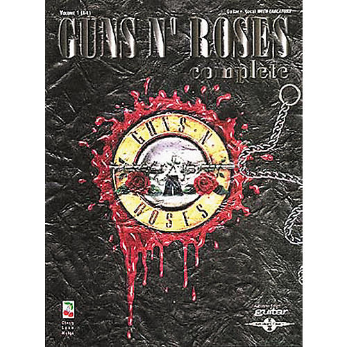 Hal Leonard Guns N' Roses Complete Guitar Tab Songbook Volume 1 A-L