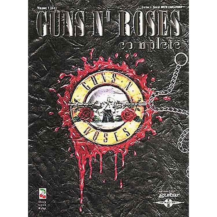 Hal LeonardGuns N' Roses Complete Guitar Tab Songbook Volume 1 A-L