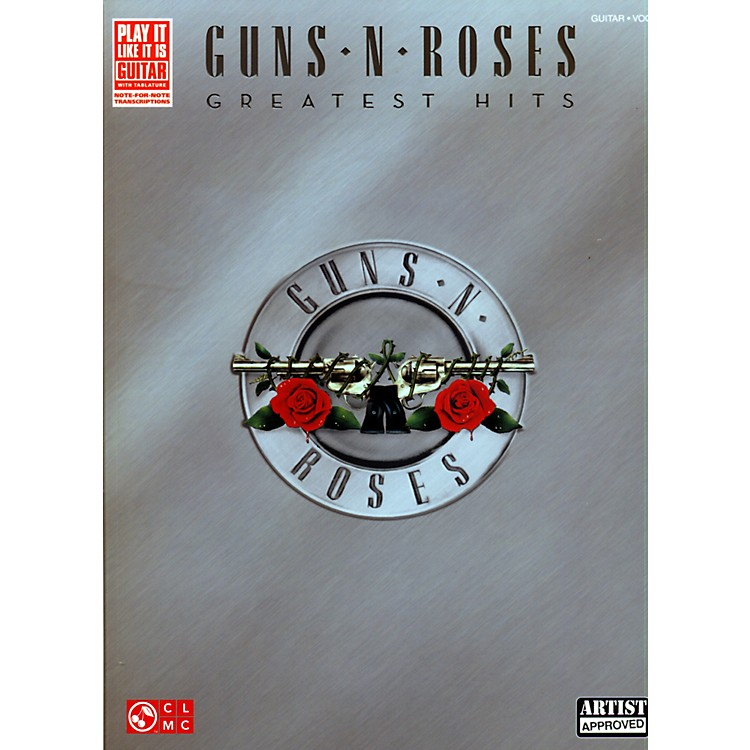 Cherry Lane Guns N' Roses Greatest Hits Guitar Tab Songbook