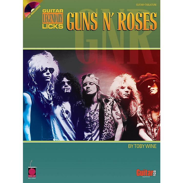 Hal LeonardGuns N' Roses Legendary Licks (Book/CD)