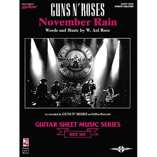 Cherry Lane Guns N' Roses: November Rain (Sheet Music)