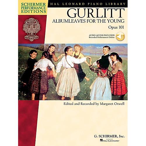 G. Schirmer Gurlitt: Albumleaves for The Young Op 101 Book/CD Schirmer Performance Edition By Gurlitt