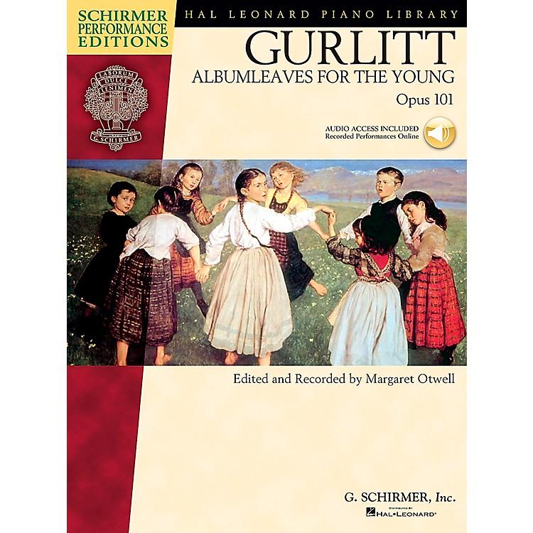 G. SchirmerGurlitt: Albumleaves for The Young Op 101 Book/CD Schirmer Performance Edition By Gurlitt