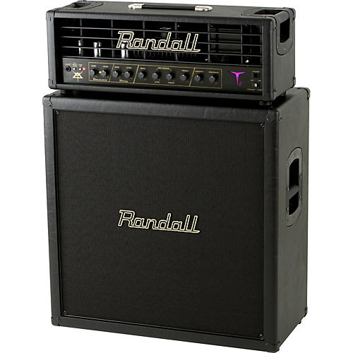 Randall Gus G Heaven and Hell T2HH and RS412XL100HH Half Stack-thumbnail