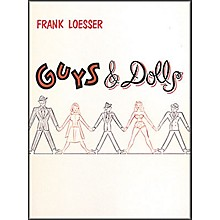 Hal Leonard Guys & Dolls Vocal Score Songbook