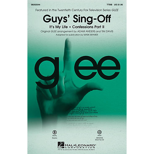 Hal Leonard Guys' Sing-Off (from Glee) TTBB by Glee Cast arranged by Mark Brymer-thumbnail