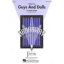 Hal Leonard Guys and Dolls (Medley) ShowTrax CD Arranged by Mac Huff