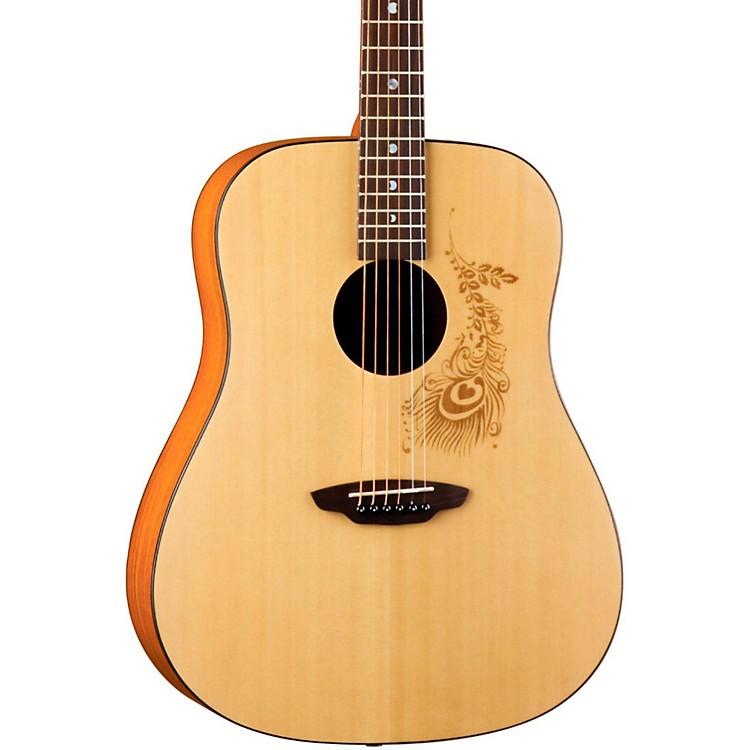 Luna GuitarsGypsy Henna Dreadnought Acoustic Guitar