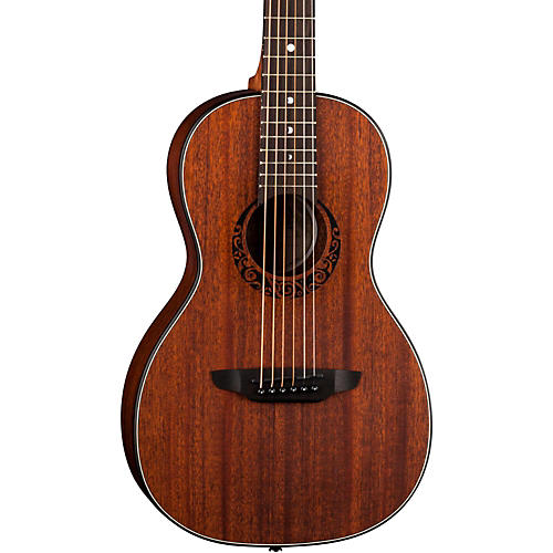 Luna Guitars Gypsy Parlor Mahogany Acoustic Guitar-thumbnail