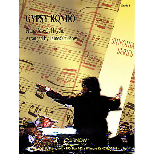 Curnow Music Gypsy Rondo (Grade 1 - Score and Parts) Concert Band Level 1 Arranged by James Curnow-thumbnail