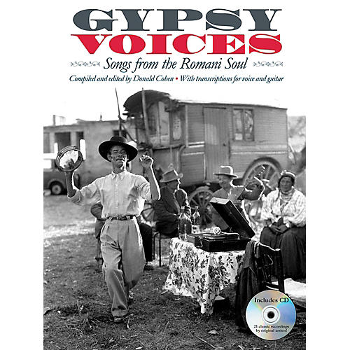 Music Sales Gypsy Voices - Songs from The Romani Soul - Vocal/Guitar Transcriptions-thumbnail