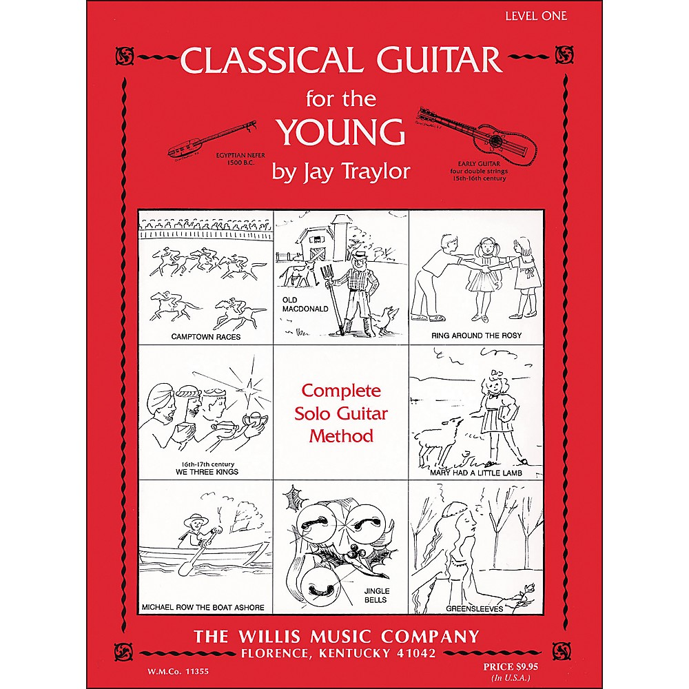 Willis Music Classical Guitar for The Young Level One