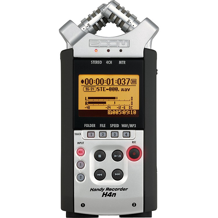 Zoom H4N Portable Digital Recorder