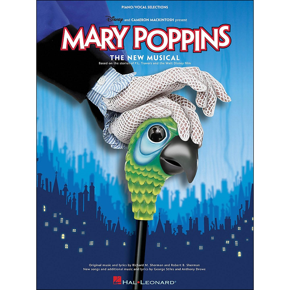 Hal Leonard Mary Poppins The New Musical Book image